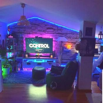 34 Fun Video Game Rooms For The Beginners | HomeMydesign