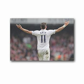LUJING Celebrity Famous Football Player Gareth Bale Posters