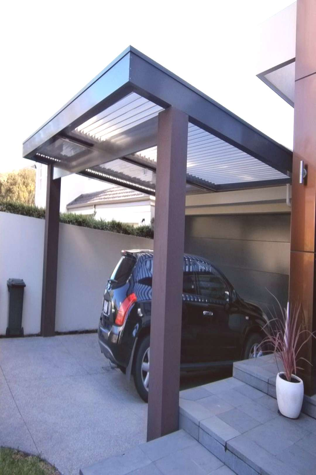 40 Simple Garage Design Ideas For Your Minimalist Home