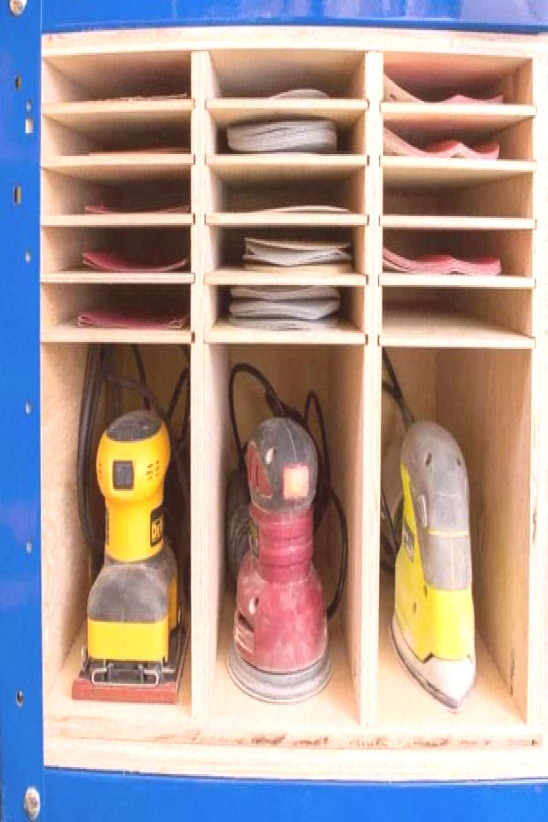 Genius tool organization ideas - whether your workshop is in your garage or if you have a dedicated